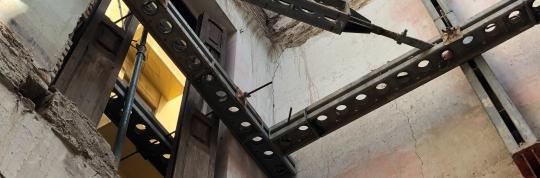 Obra Burguerins - Estabilizadores de fachada