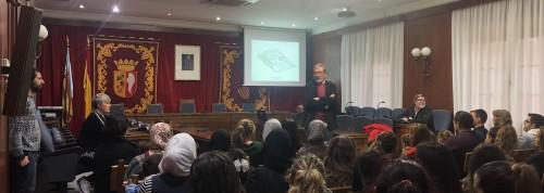 Presentación ante la comunidad educativa, padres y alumnos